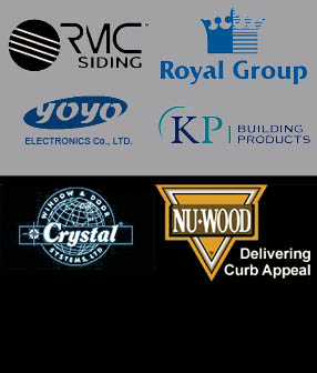rmc siding, royal building products, yoyo bidet, kp building products, crystal windows and doors, nu wood, apex